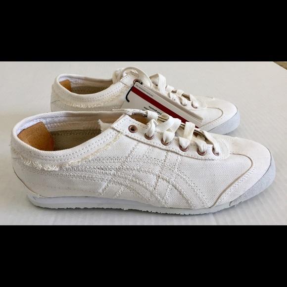 wholesale dealer 590ef db098 ASICS Onitsuka Tiger Mexico Denim Shoes Sz 6 RARE NWT